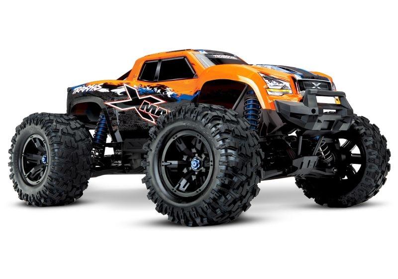 X-MAXX 8S 4WD Brushless Monstertruck TSM RTR - orange