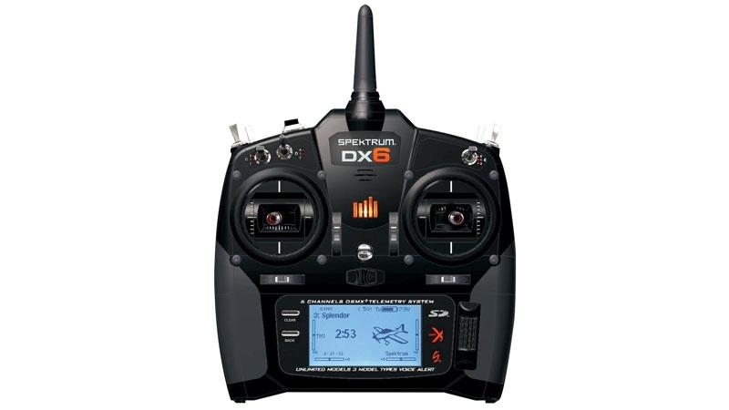 Spektrum DX6 m. AR610-Empfänger