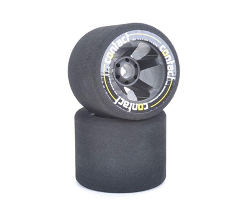 Moosgummi-Räder 37° Nitro 1/8 auf Speichenfelge hinten (2)