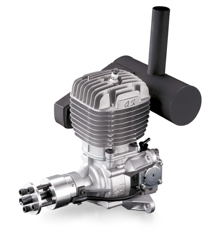 GT60 60cc 2-Stroke Gasoline Engine w. Silencer