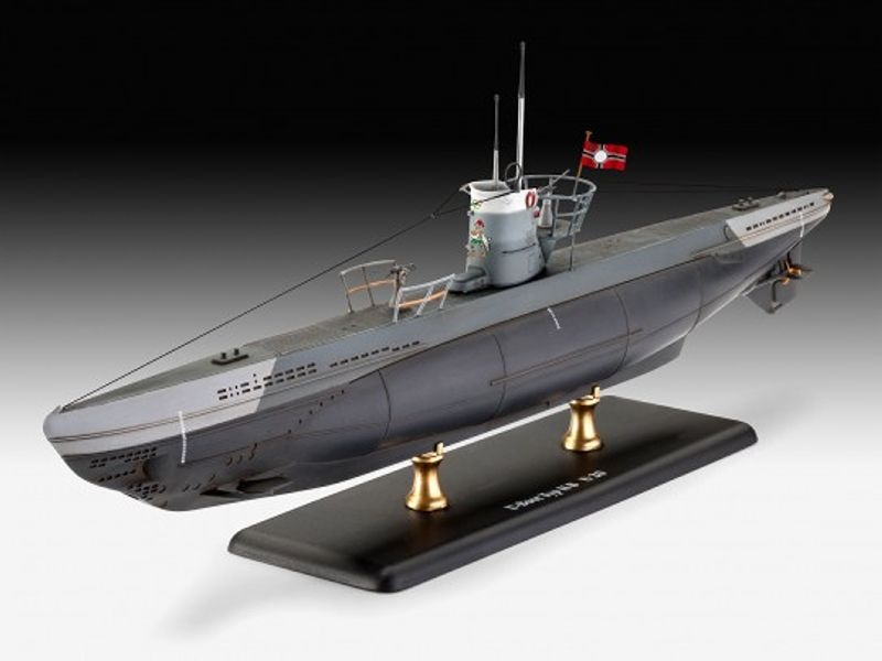 Model Set German Submarine Type IIB U-Boot 1:144 Bausatz