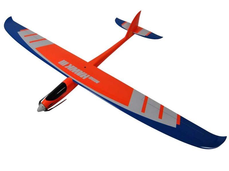 Mini Hawk III 1320mm Voll-GFK Hotliner ARF