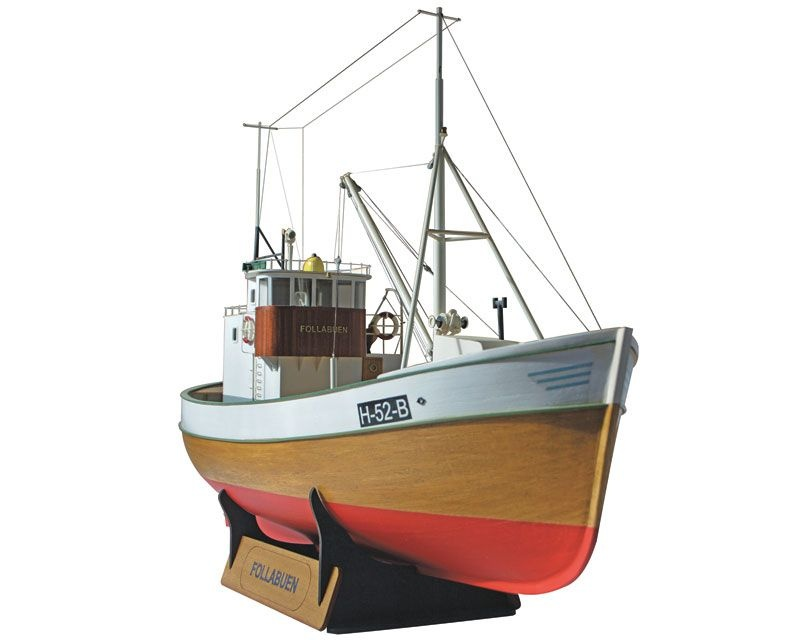 MS Follabuen Fischkutter 1:25 Bausatz