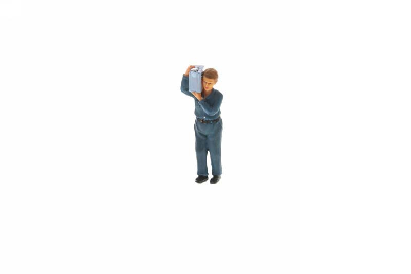 Mechaniker stehend M1:20 Figur