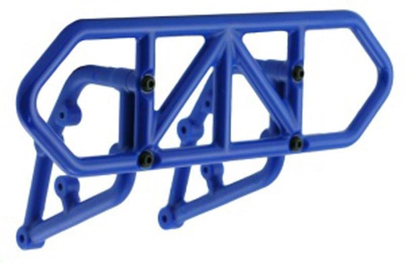 Bumper hinten Slash blau