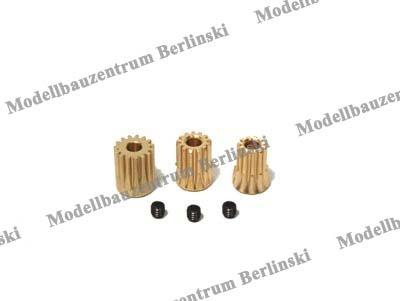 Motorritzel-Set 9, 10, 11 Zähne Modul 0.5 für T-Rex 450