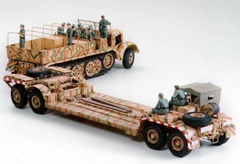 Famo mit Panzertieflader 1:35