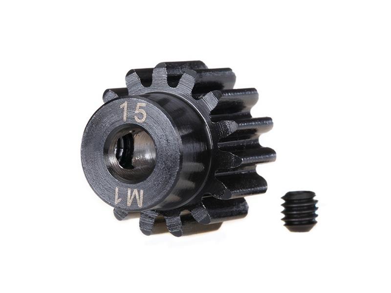 Motorritzel Stahl extra Hart 13 Zähne, Modul 1.0, 5mm Welle