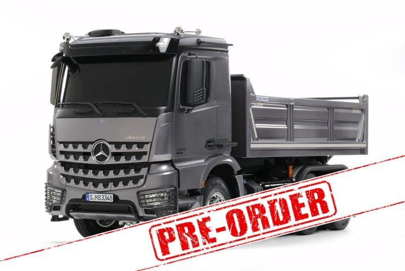 Mercedes Benz Arocs 3348 3-Achs Hinterkipper 1/14 LKW