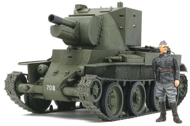 1:35 WWII BT-42 Sturmgeschütz Finnische Armee