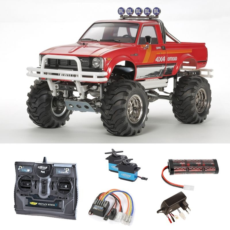 Mountain Rider 3-Gang Getriebe Toyota 4x4 1/10 Komplettset