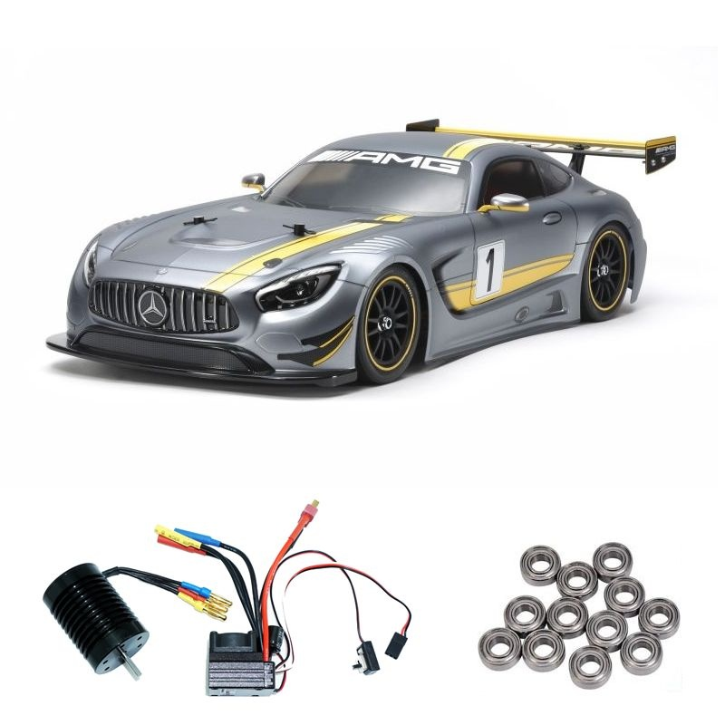 Mercedes-AMG GT3 (TT02) 1:10 Kit Brushless-Edition mit Lager