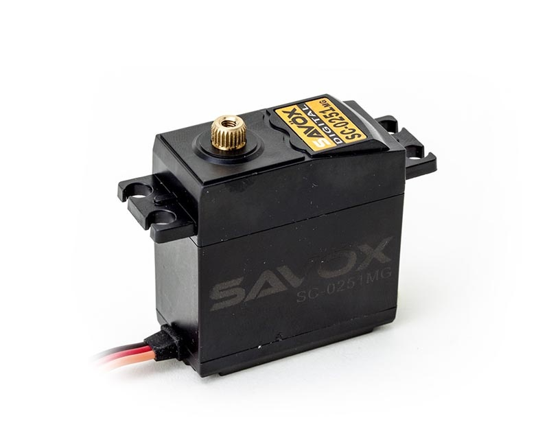 SC-0251MG Metallgetriebe Digital Servo 0,18sek / 16kg