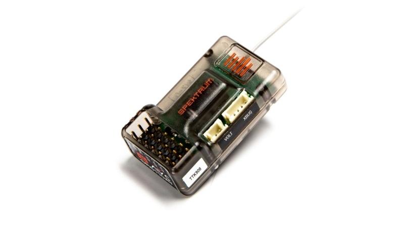 SR6110AT 6-Kanal Empfänger 2,4GHz DSMR DSM2 AVC/Telemetrie