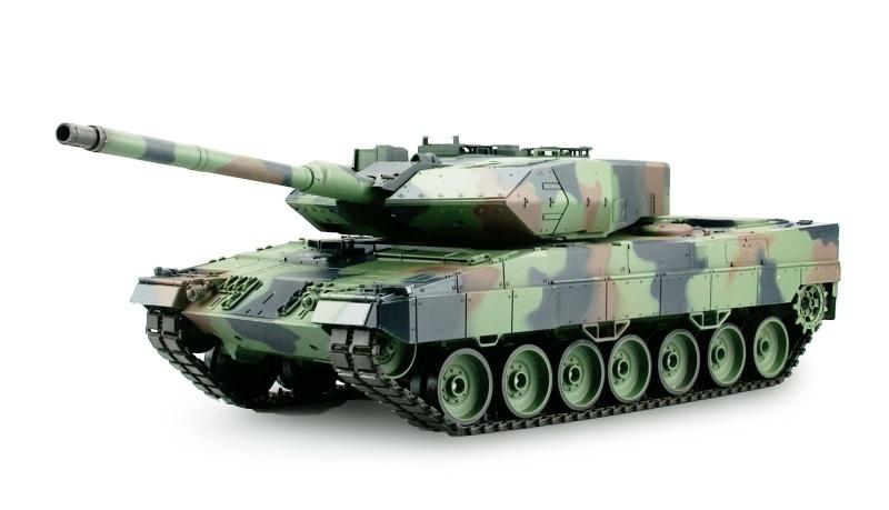 Leopard 2A6 1:16 Panzer Standard Line IR/BB, 2,4GHz RTR