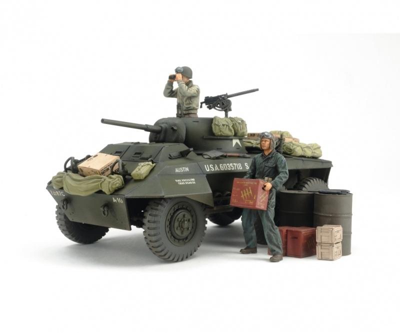 US M8 Greyhound Combat Patrol Set 1:35 Plastik Modellbausatz