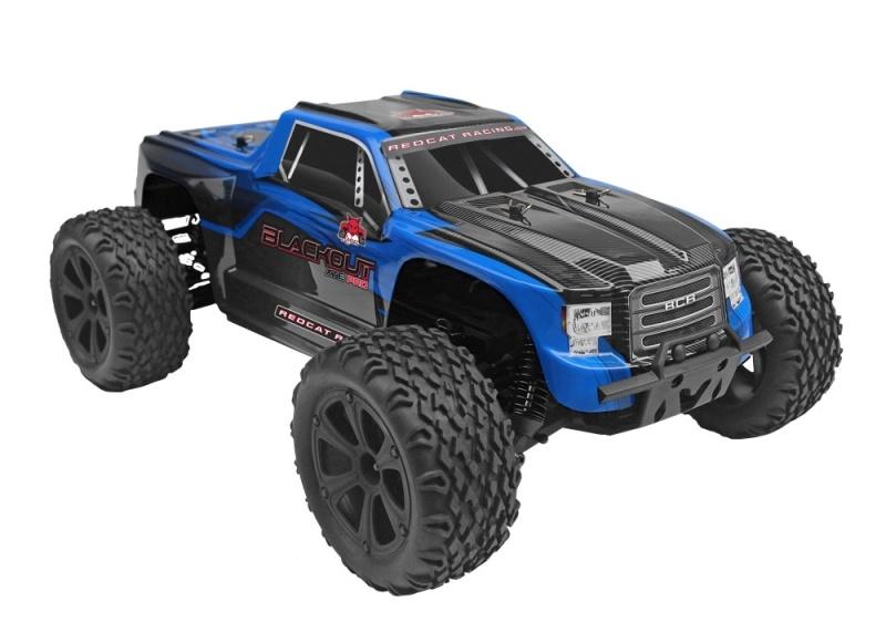 Blackout XTE PRO Brushless 4WD Monstertruck 1:10 RTR 2,4Ghz
