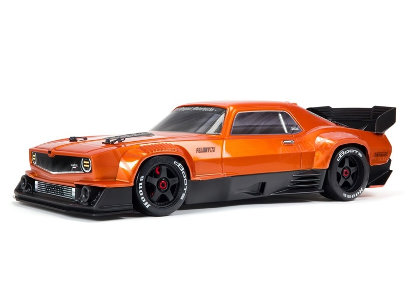FELONY 6S BLX All-Road Street Bash 1/7 RTR Muscle orange