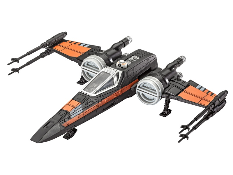 Poes X-wing Fighter 1:78