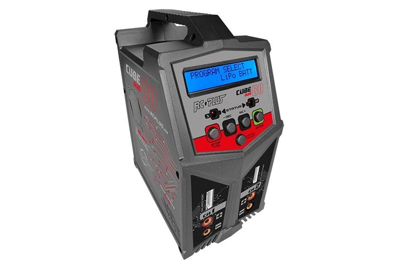 Cube 80 Duo Ladegerät AC/DC 2x 80 Watt Lipo bis 6S