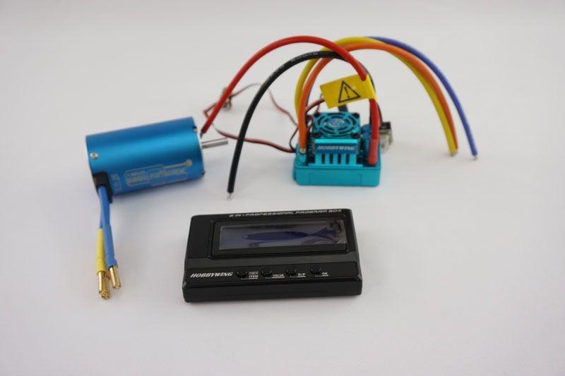 Xerun SCT Pro sensored Brushless Combo 2250KV