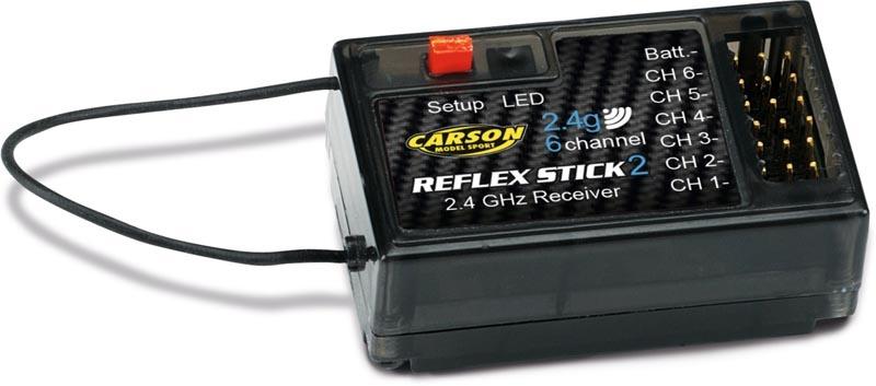 Empfänger REFLEX Stick II 6 Kanal 2,4GHz