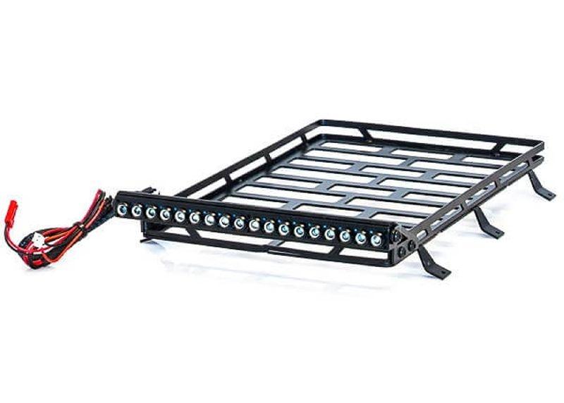 Dachgepäckträger Set Metall mit LED Leiste - 245x153x45mm