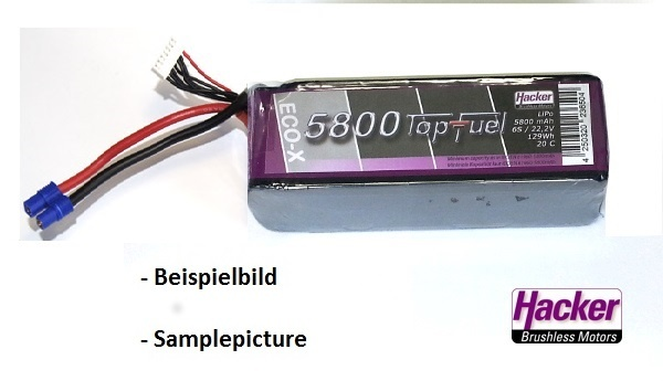 TopFuel LiPo 20C-ECO-X 5800mAh 4S