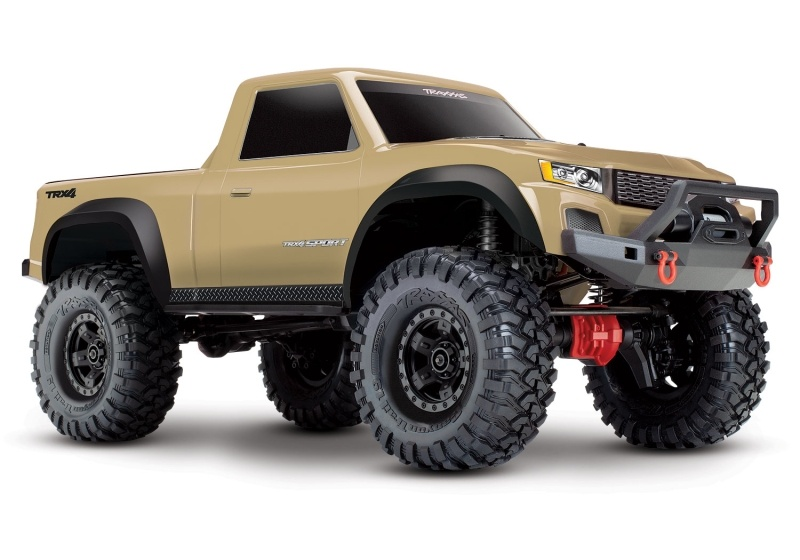 TRX-4 Sport - 1/10 Scale Crawler 4WD 2,4GHz RTR, Tan (Sand)