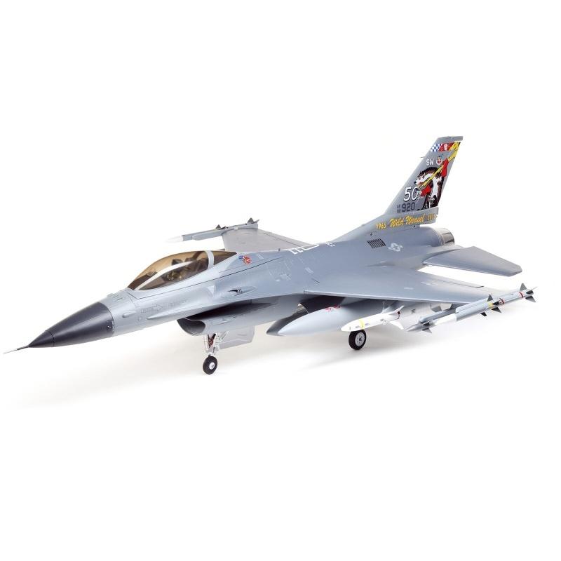 F-16 Falcon 80mm EDF Jet Smart BNF Basic SAFE Select, 1000mm