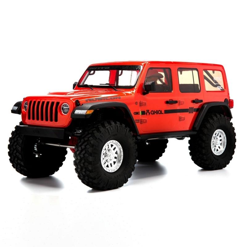 SCX10 III Jeep JLU Wrangler Crawler Portalachsen, RTR orange