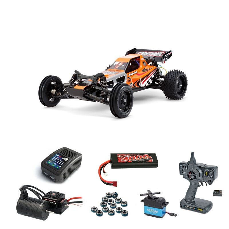 Racing Fighter 1:10 RC Buggy Brushless Edition Komplett-Set