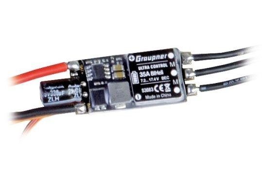 Regler ULTRA 35A BL HELI SBEC 2-4S mit XT60 Stecker