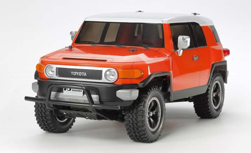 RC Toyota FJ Cruiser Orange (CC-01) 1:10 Kit inkl E-Regler