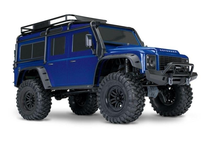 TRX-4 Scale Crawler Land Rover Defender blau 1:10 4WD RTR