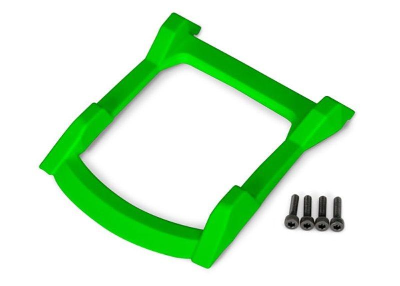 Unterfahrschutz Dach (Karosserie) für Rustler 4x4, grün