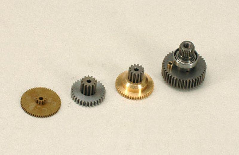 Getriebesatz für Futaba BLS 451, BLS 253 und S9551 Digital