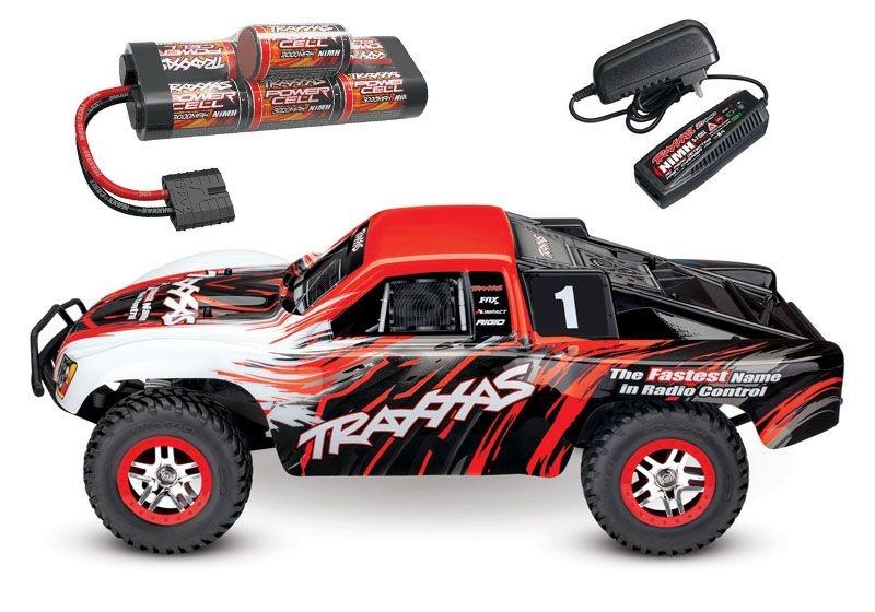 Slash 4x4 BRUSHLESS +TSM Short-Course-Truck mit Akku/Lader