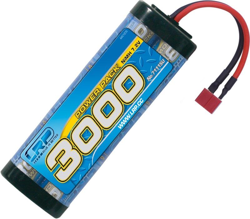 Power Pack 3000 - 7.2V - 6-Zellen - US-style Stecker NiMh
