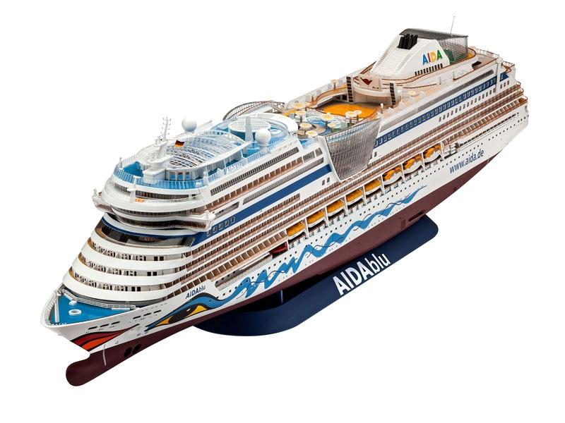 Cruiser Ship AIDAblu, AIDAsol, AIDAmar, AIDAstella 1:400