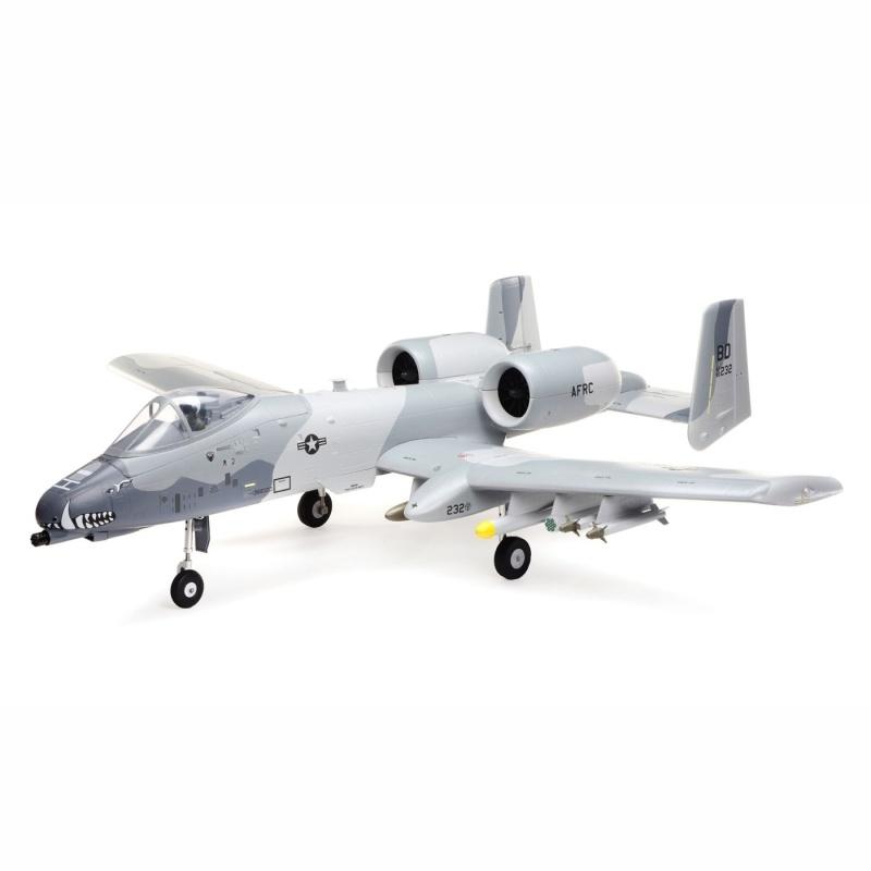 A-10 Thunderbolt II 64mm EDF BNF Basic AS3X