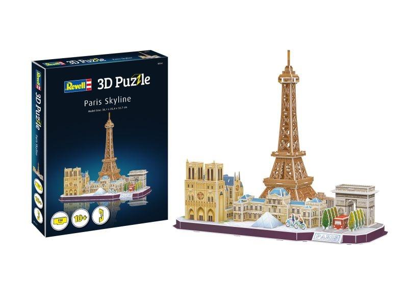 3D Puzzle Paris Skyline 114 Teile