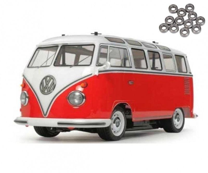 VW Bus T1 Samba (vorlackiert) 2WD M-06 1/10 Kit + Kugellager