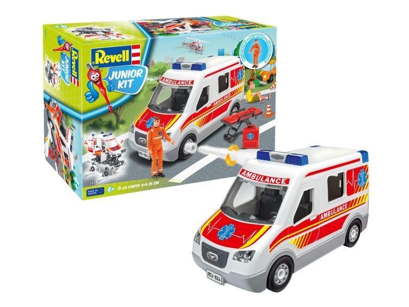 Junior Kit Rettungswagen 1:20