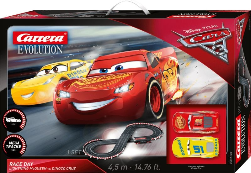 EVOLUTION 132 Disney Pixar Cars - Race Day Startpackung