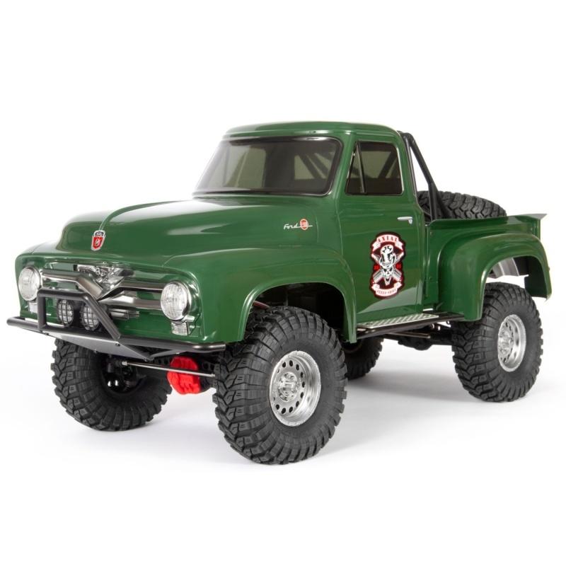 SCX10 II 1955 Ford F-100 4WD Offroad Truck 1/10 RTR, grün