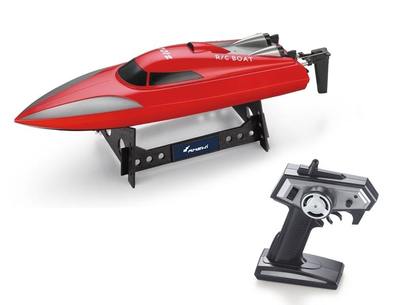 Speedboot 7012 Mono rot 2,4GHz RTR - 25km/h