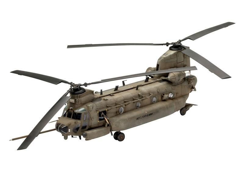 MH-47E Chinook Transporthubschrauber 1:72 Bausatz
