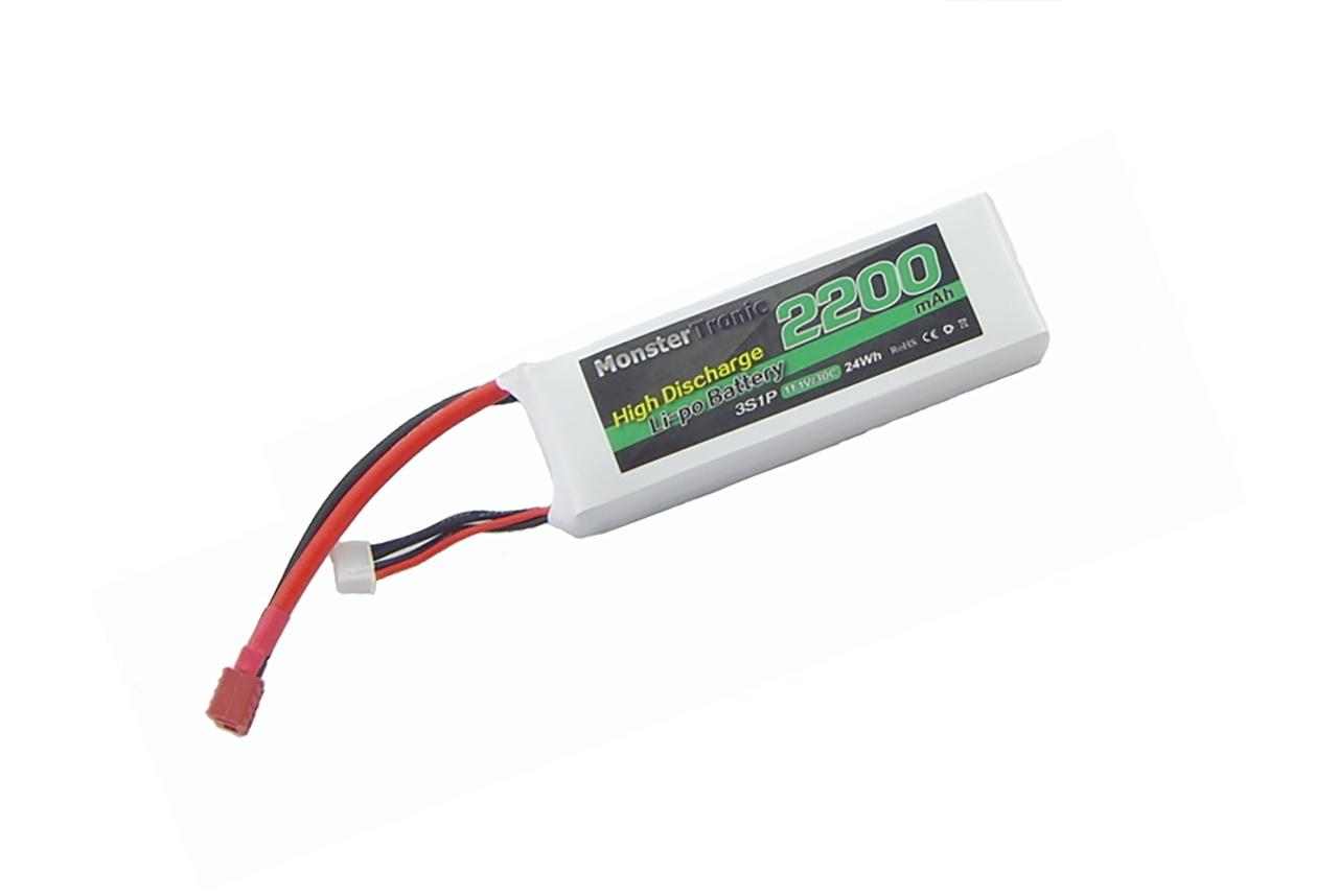 Akku Lipo 11,1V 2200mah 30 T-Plug