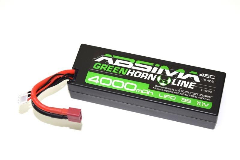 LiPo Stick Pack 11.1V-45C 4000 Hardcase (T-Plug)